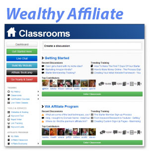 Wealthy Affiliate Classroom
