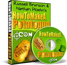 Russell Brunson potato gun