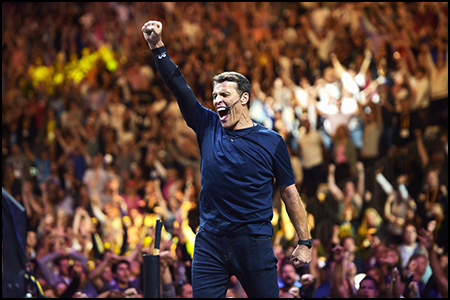 KBB 2.0 Tony Robbins speaks on stage