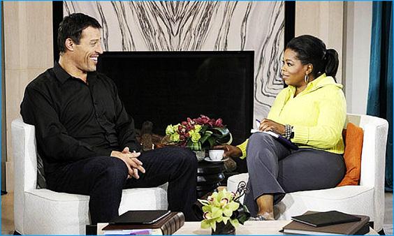 Tony Robbins & Opraha