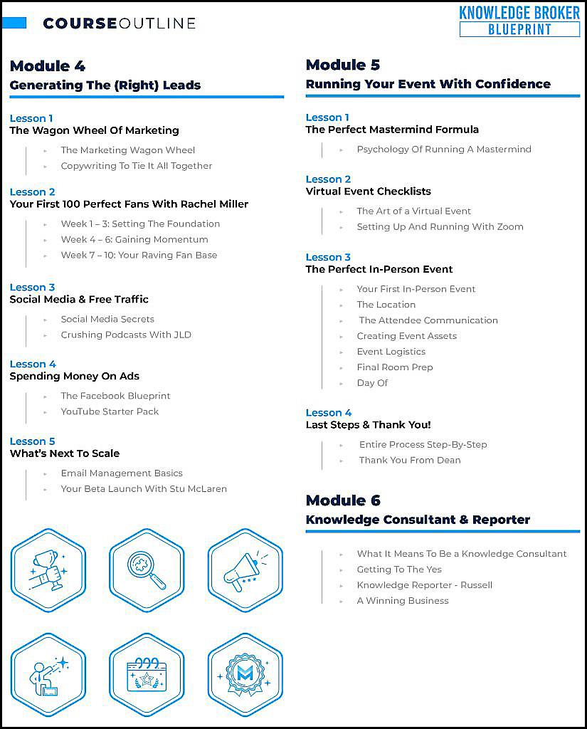 Knowledge Broker Blueprint KBB 2.0 Course outline1